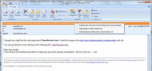 Emails Letters and Mailing Lists-Possible error displayed when trying to open a l-Communication.1.027.2.jpg