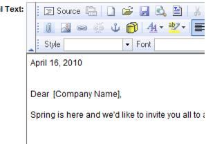 Emails Letters and Mailing Lists-Inserting a database field-Communication.1.043.6.jpg