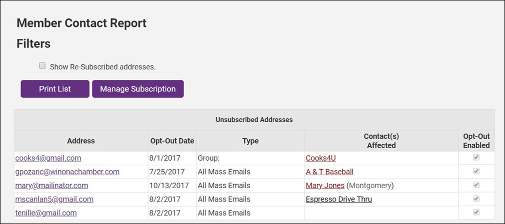 Unsubsribed Report.JPG